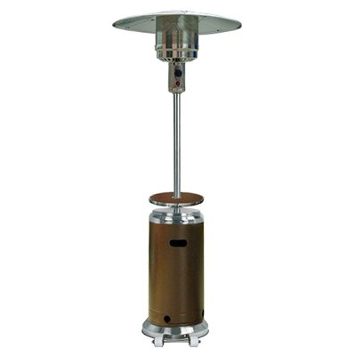 Sol 72 Outdoor Barnhart Tall 48,000 BTU Propane Patio Heater Finish: Hammered Bronze and Stainless Steel