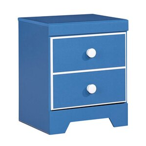 Bronilly 2 Drawer Nightstand by Signature Design by Ashley
