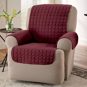 Box Cushion Armchair Slipcover by Red Barrel..