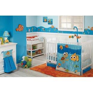 Nemo 4 Piece Crib Bedding Set