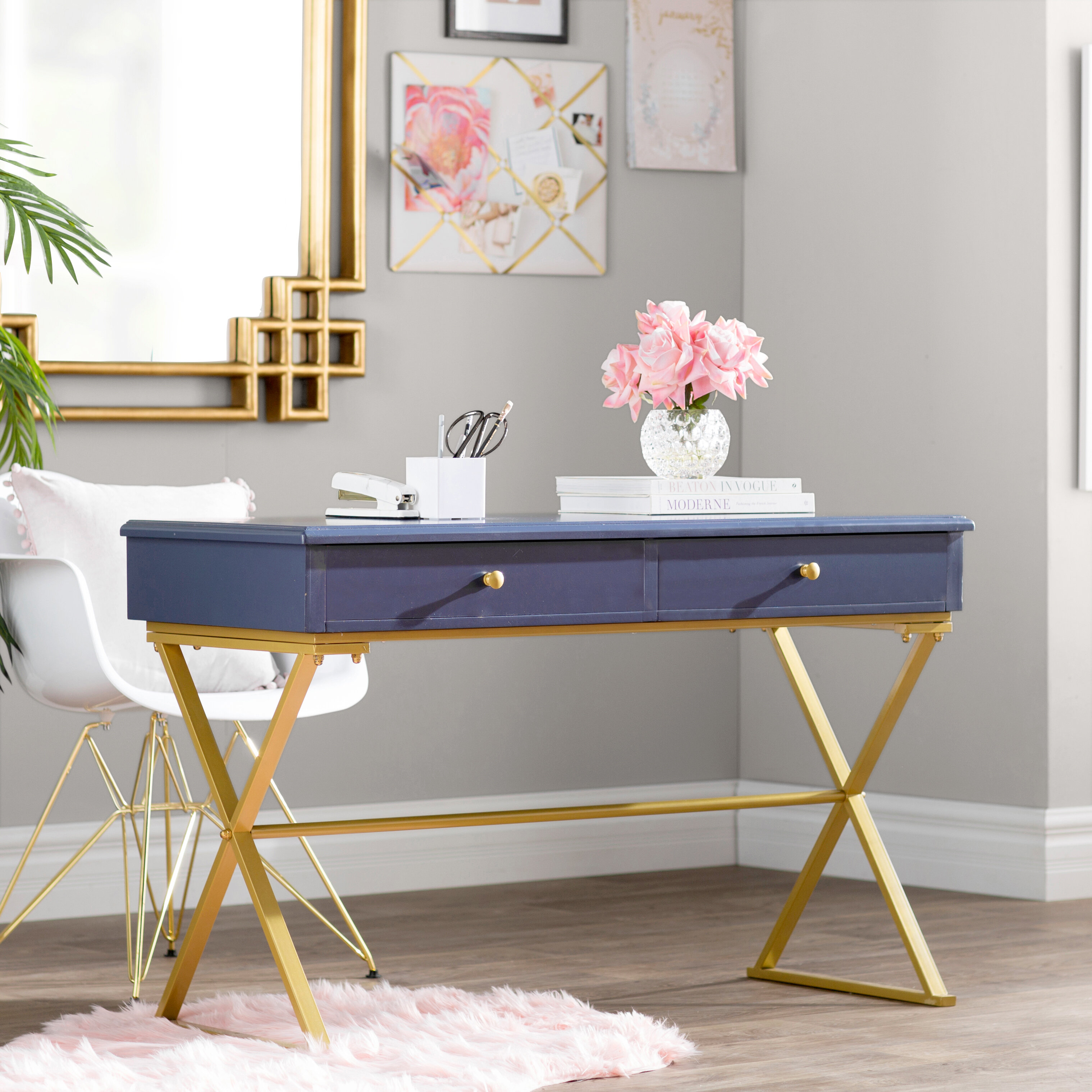 product gray writing overstock office desk today home garden storage blue free roskilde shipping wood