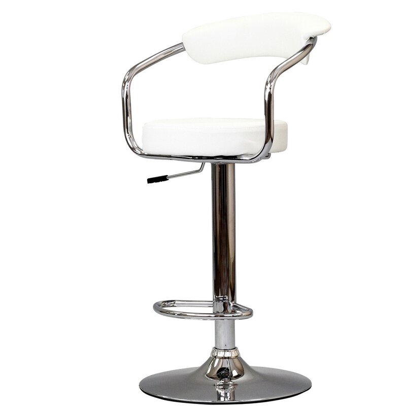 Modway Diner Adjustable Height Swivel Bar Stool Amp Reviews