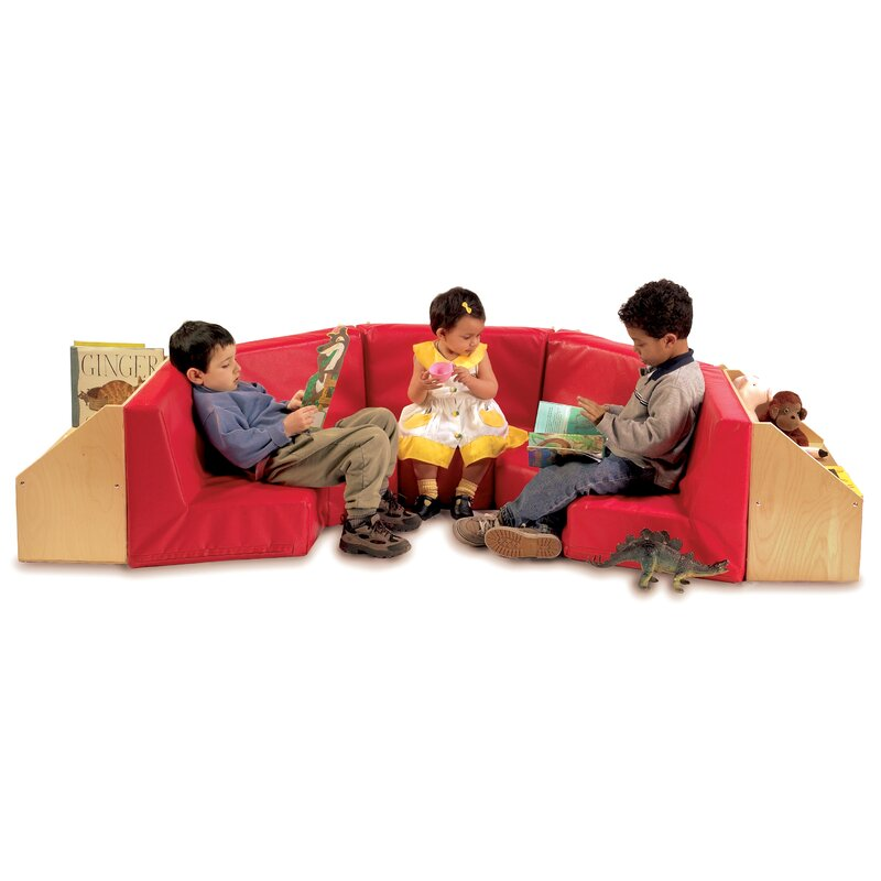 Kids Sofa With Storage Compartment