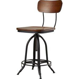 Fennimore Adjustable Height Swivel Bar Stool by Trent Austin Design