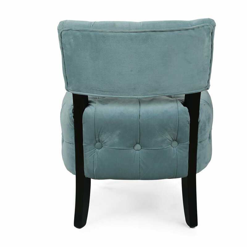 Adecotrading single living room side chair reviews wayfair for Living room single chairs