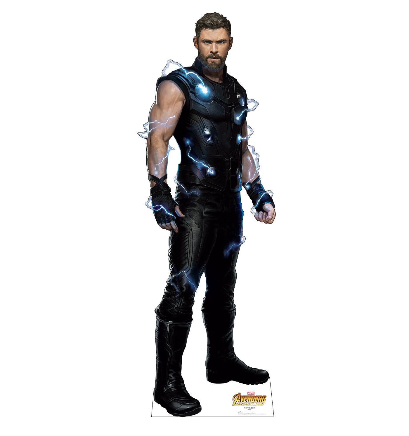 Advanced Graphics Avengers Infinity War Thor Standup Wayfair