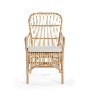 Deloris Rattan Arm Chair (Set of 2) by..