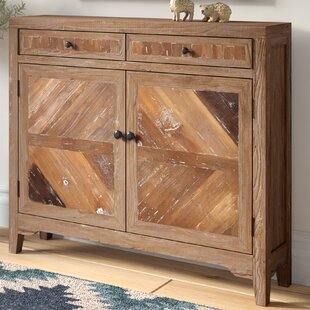 Kaspar Reclaimed Wood Console Cabinet