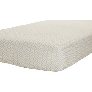 Classic Print Fitted Crib Sheet