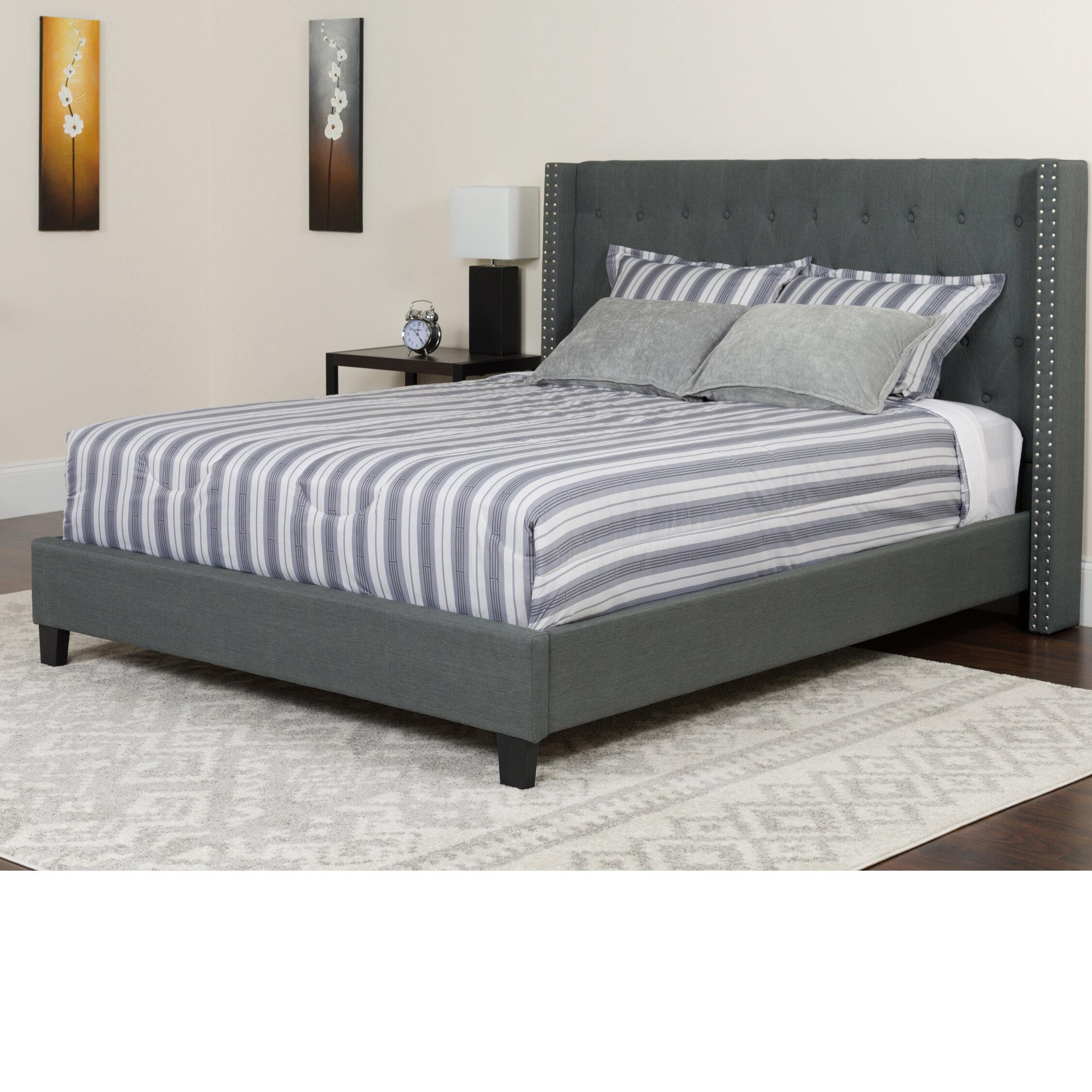 Platform Bed Without Mattress