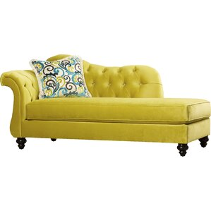 Marla Chaise Lounge  sc 1 st  Wayfair.com : yellow chaise lounge - Sectionals, Sofas & Couches