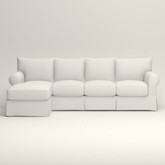 Chaise Sectional Sofas Wayfair
