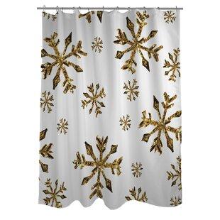 Snowflake Shower Curtain Hooks