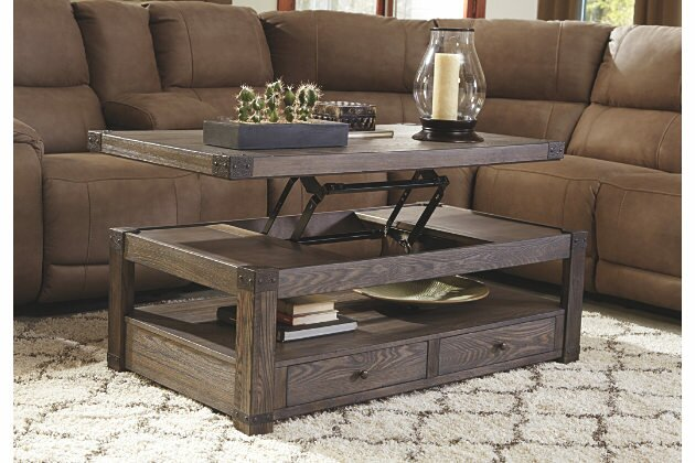 Gentil Bryan Coffee Table With Lift Top