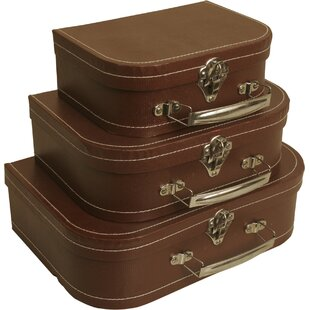 Well-liked Vintage Decorative Suitcases   Wayfair IS55