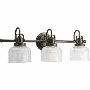 Bathroom Vanity Light Fixtures Up Or Down oil rubbed bronze bathroom vanity lighting | wayfair