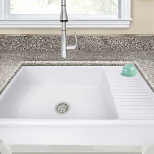 Cape 36 L X 20 W Farmhouse A Sink With Built In Drainboard