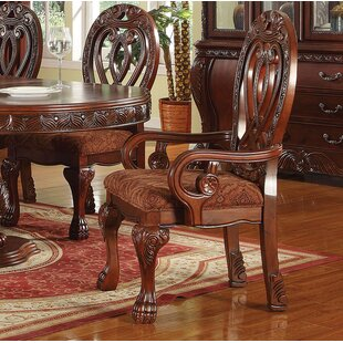 Sherrill Solid Wood Dining Chair (Set of 2)