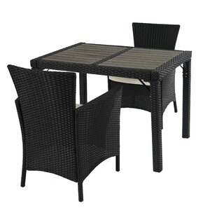 2-Sitzer Sofa-Set Alair aus Polyrattan mit Polster von Garten Living