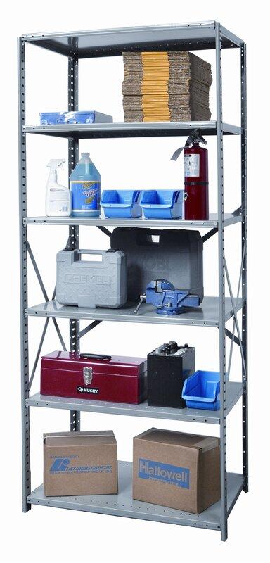Hi-Tech Shelving Duty Open Type 5 Shelf Shelving Unit Starter