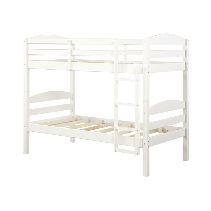 Harriet Bee Santiago Twin Over Twin Bunk Bed Reviews Wayfair Ca