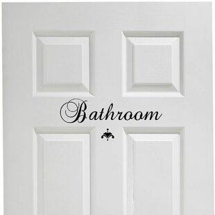 Bathroom Door Decal  sc 1 st  Wayfair & Laundry Room Door | Wayfair