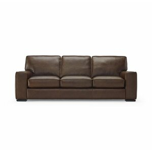 Vincenzo Leather Sofa by N..