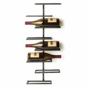 Curren 8 Bottle Wall Mounted Wine Rack by Red Barrel Studio