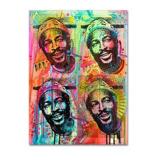 Tupac Graphic Art Print On Wrapped Canvas