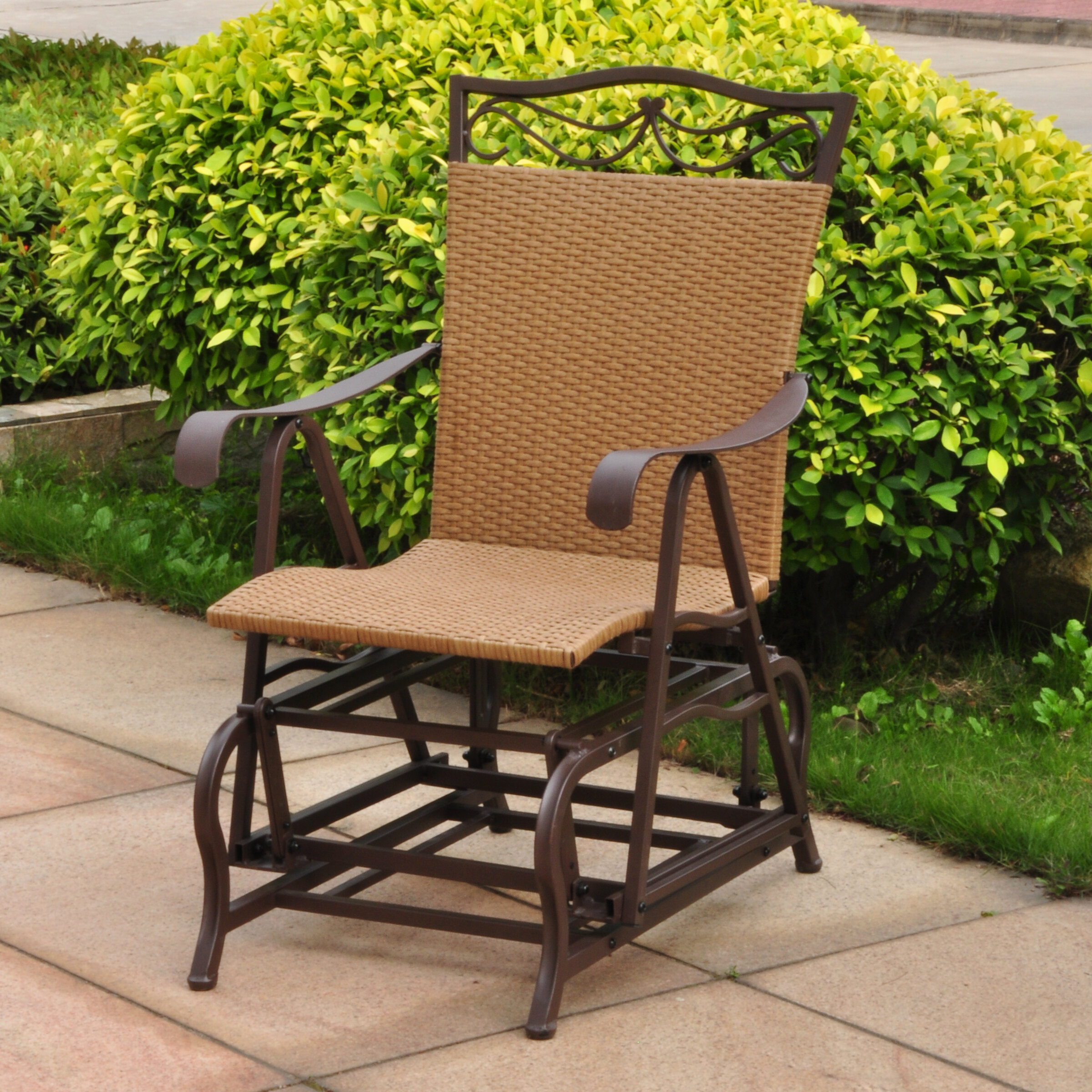 Charmant Three Posts Meetinghouse Single Glider Chair U0026 Reviews | Wayfair