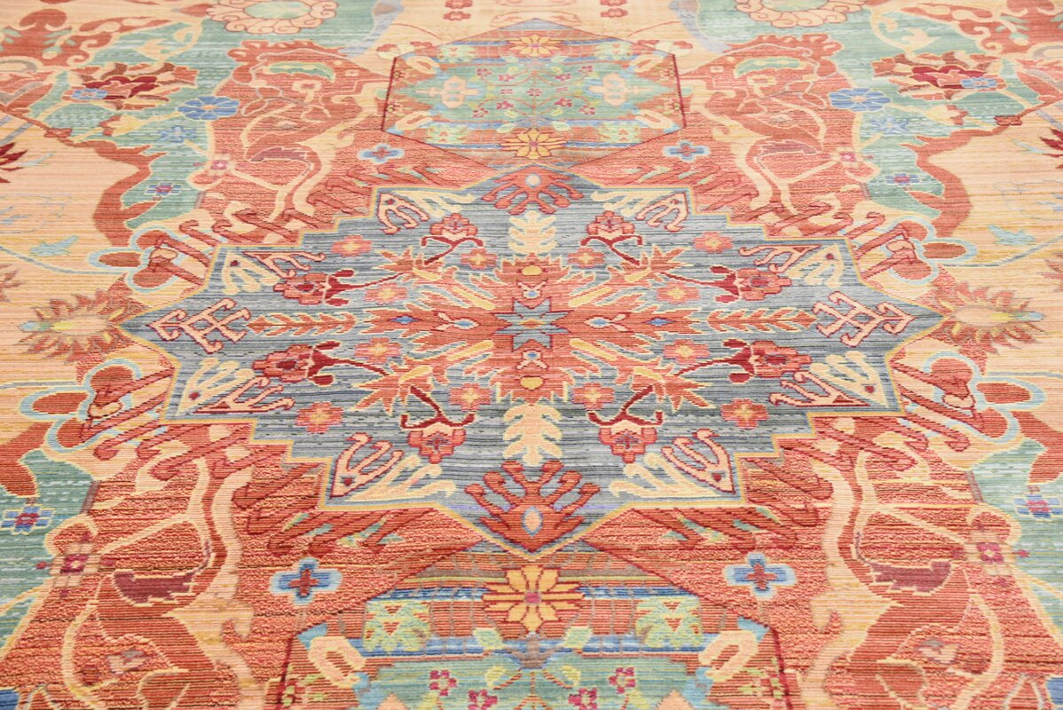 Peach Area Rug Uniquely Modern Rugs