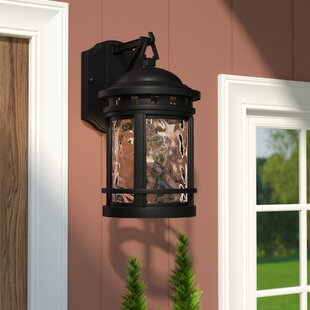 rustic outdoor light fixtures wall mounted quickview rustic outdoor wall lighting youll love wayfair