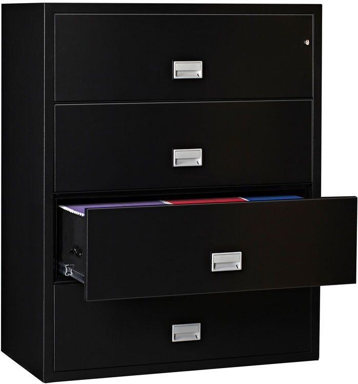 Marvelous 4 Drawer Lateral Filing Cabinet