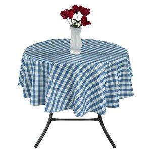 Checkered Vinyl Indoor/Outdoor Tablecloth