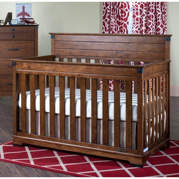 Child craft redmond convertible crib reviews wayfair for Drape stand for crib