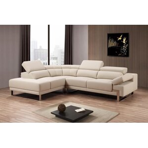 Townsend Solid Reclining Sectional by Willa Arlo Interiors