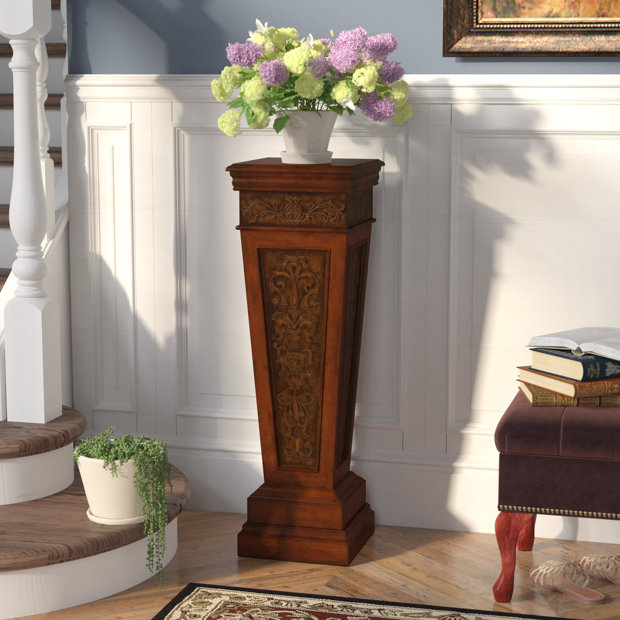 Delicieux Warner Robins Pedestal Plant Stand