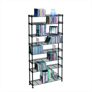 8-Tier Adjustable Multimedia W..