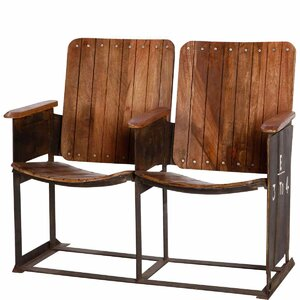 Sitzbank Cinemaster aus Holz und Metall von Butlers