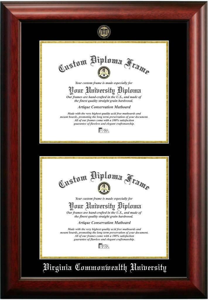 Diploma Frame Deals Virginia Commonwealth University Double Degree ...