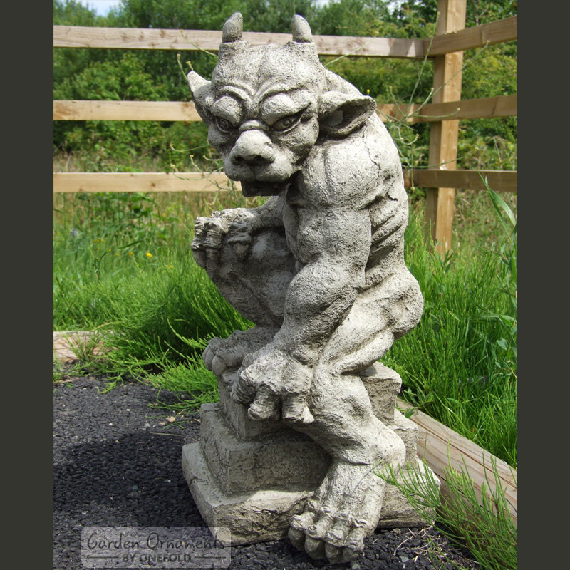 Superbe Garden Ornaments By Onefold Guardian Gargoyle Garden Statue | Wayfair.co.uk