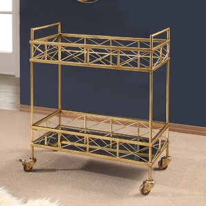 Warren Remo 2 Tier Bar Cart by Mercer41