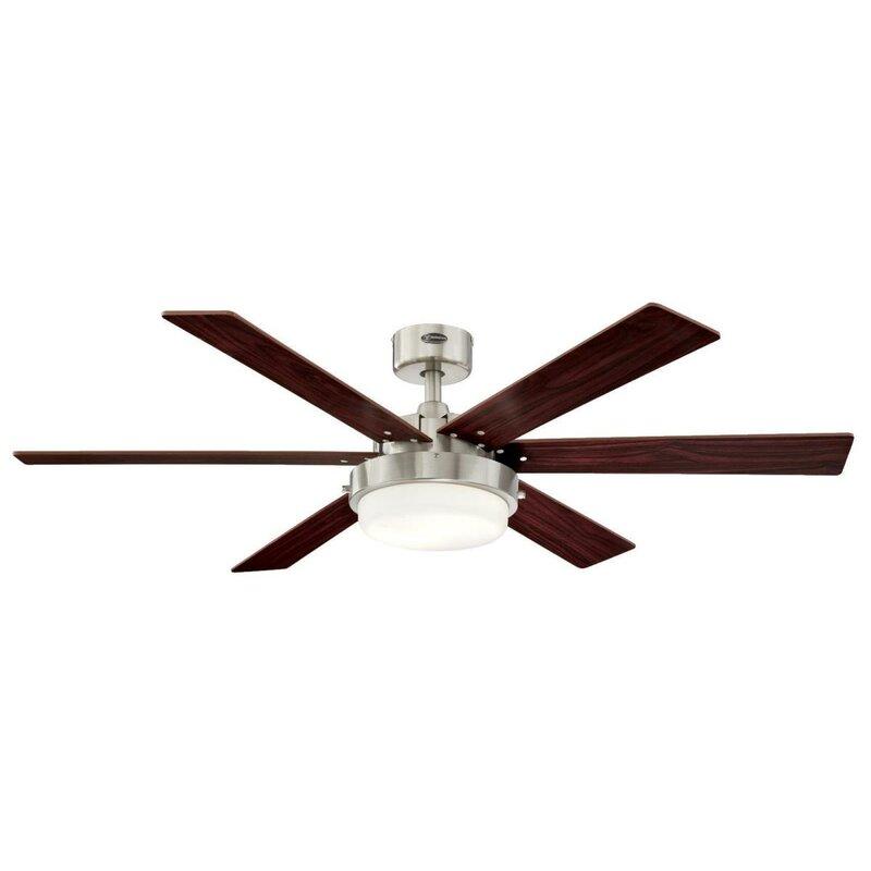 52 Corsa 6 Blade Led Ceiling Fan