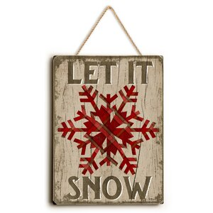 Let It Snow Graphic Art