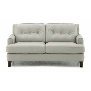 Barbara Leather Loveseat by Palliser Furniture