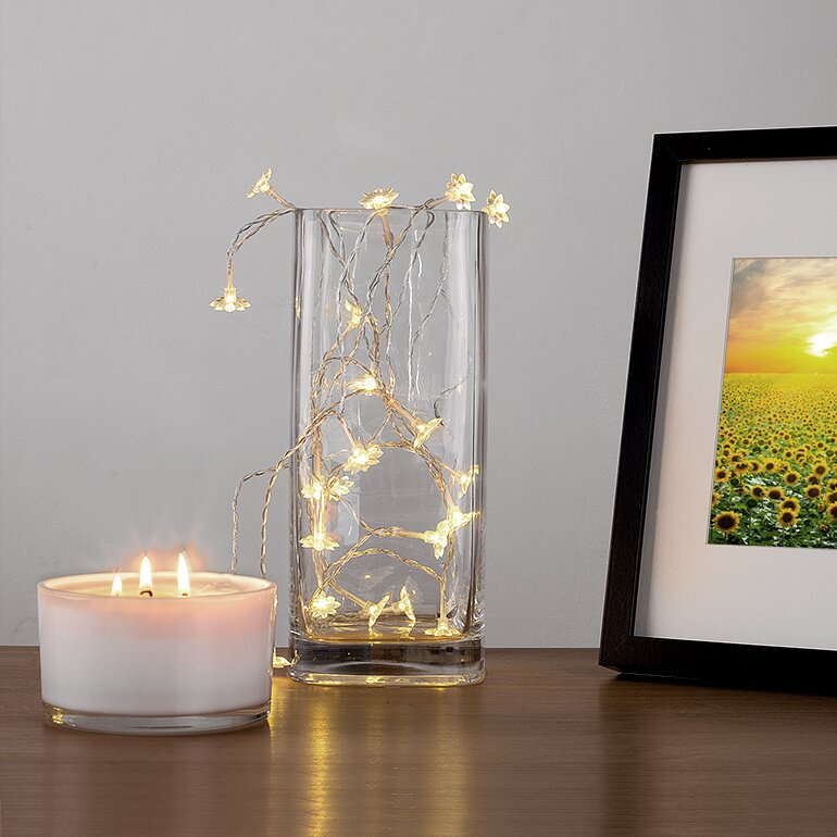 Minisun 20 Led Sunflower Fairy String Lights Amp Reviews