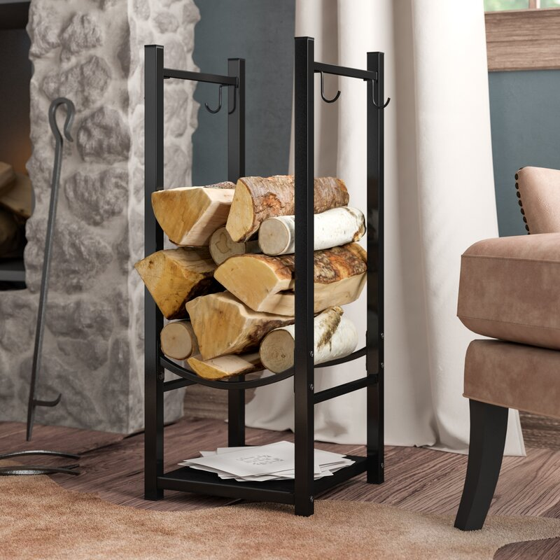 Wfx Utility Caiden Fireside Log Rack With Tool Holder Reviews