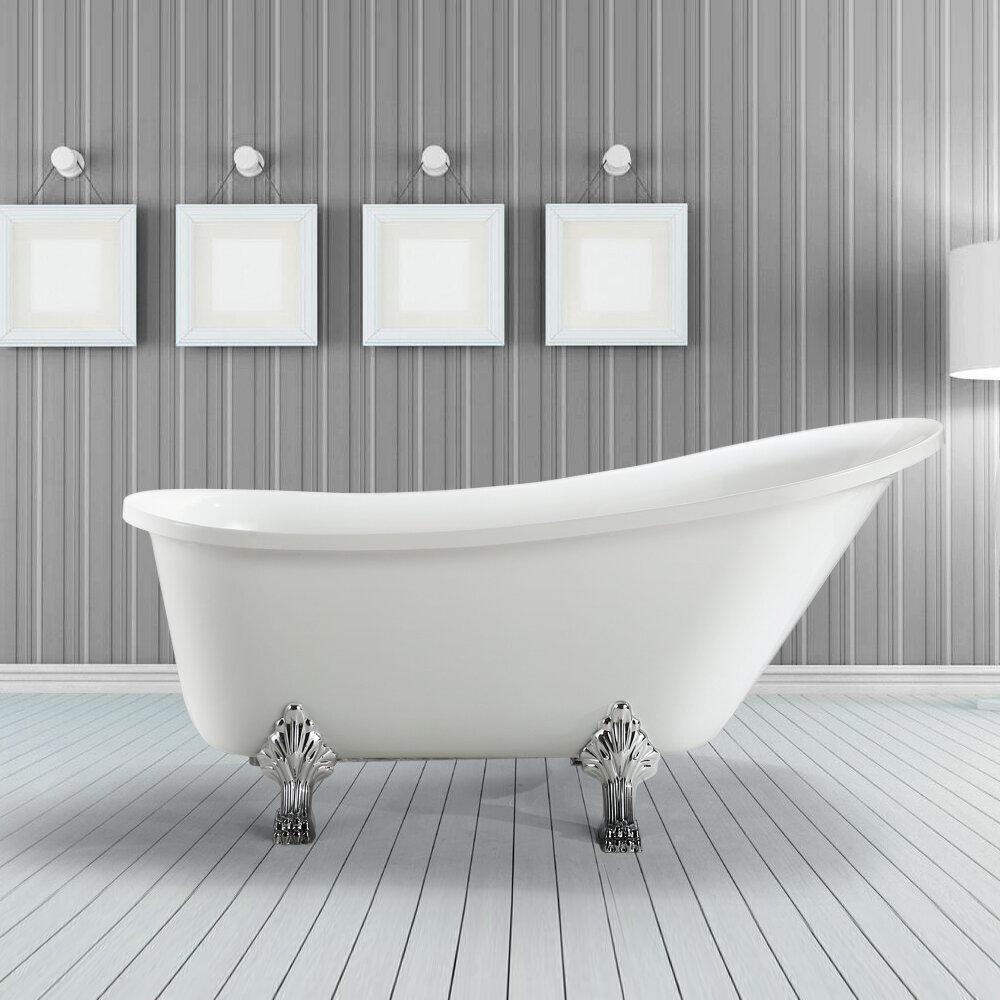 213070 Bat Wh L Jacqueline 70 X 26 Soaking Bathtub