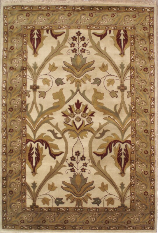 American Home Classic Arts U0026 Crafts Antique Ivory U0026 Sage Area Rug