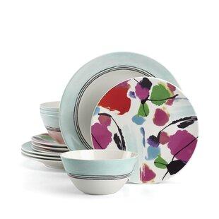 Manarola 12 Piece Dinnerware Set Service for 4. by Lenox  sc 1 st  Wayfair & Lenox Dinnerware Sets Youu0027ll Love | Wayfair